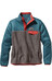 Patagonia W's Mixed Snap-T Pullover Crater Blue